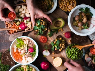 How vegetarian food helps in our growth?